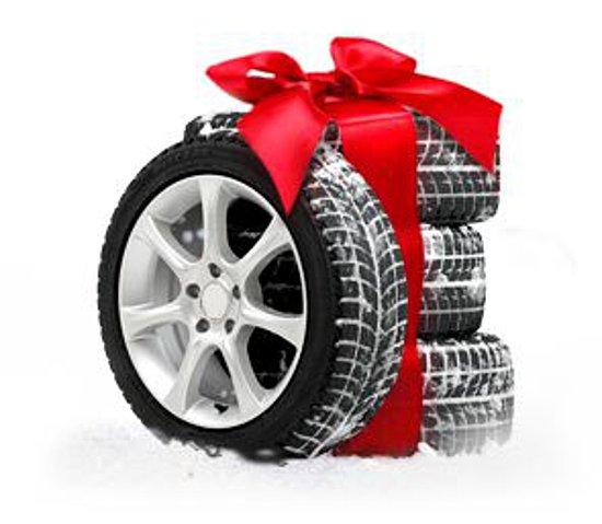 Комплект зимних шин в подарок 865